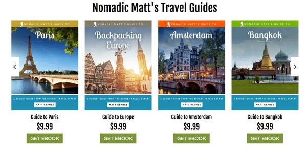 travel blogger xuat ban ebook
