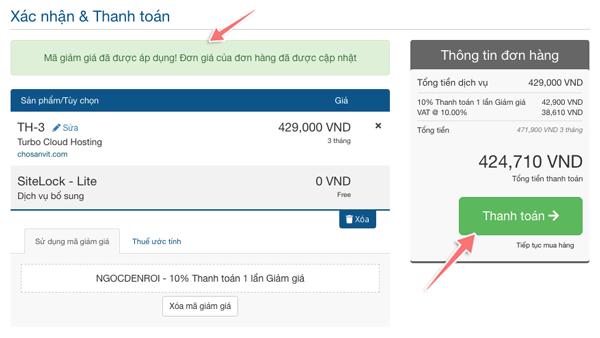 cách mua hosting để cài đặt blog