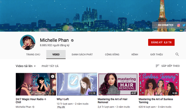 blogger Michelle Phan