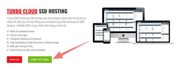 dùng thử dịch vụ hosting cua azdigi