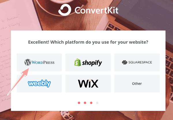 hướng dẫn tạo tài khoản convertkit làm email marketing