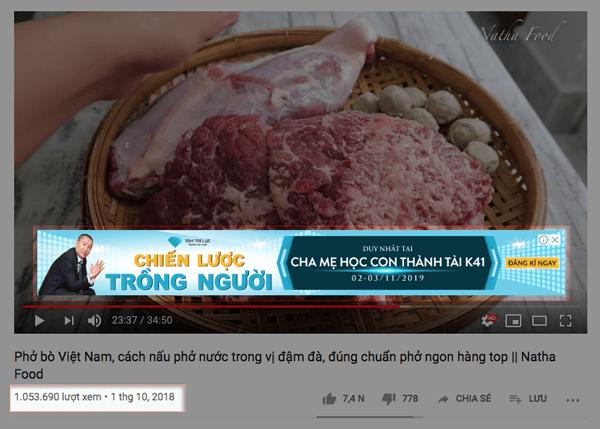kiếm tiền bằng quảng cáo youtube