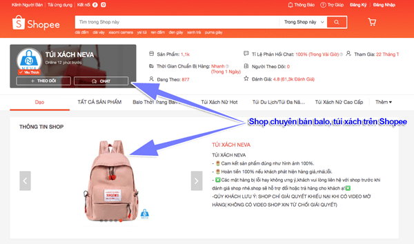 kinh doanh online trên shopee