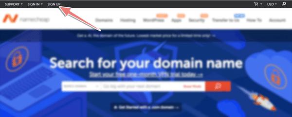 hướng dẫn đăng ký tên miền tạo namecheap