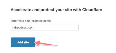 cách cài đặt cloudflare cho blog