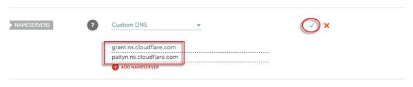 thay đổi địa chỉ DNS tên miền trên NameCheap