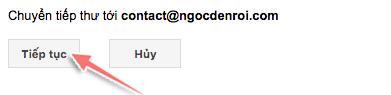 cách chuyển tiếp thư gmail