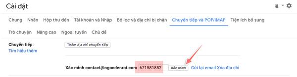 cách forward mail trong gmail về địa chỉ gamil khác