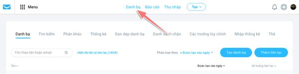 cách tạo danh sách email cho webbinar