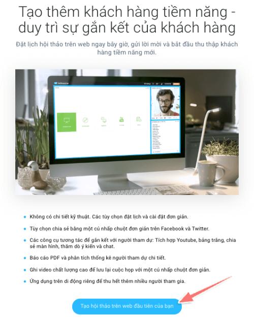hướng dẫn cách tạo hội thảo webinar với getresponse
