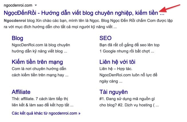 title google ngocdenroi