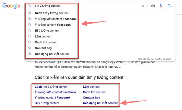 cách tìm content viết bài blog