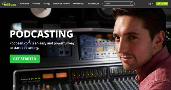 dịch vụ podcast hosting podbean