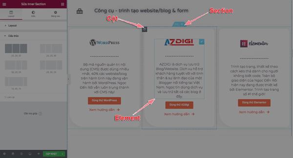 cách sử dụng elementor pro thiết kế trang web