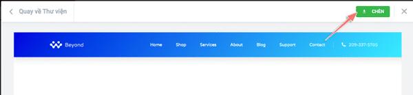 hướng dẫn tạo menu header bằng elementor