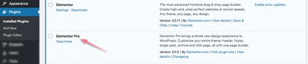 cài elementor pro cho wordpress