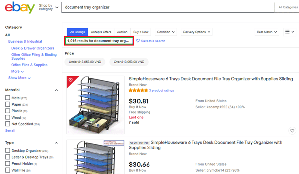 cách chọn sản phẩm làm ebay dropshipping