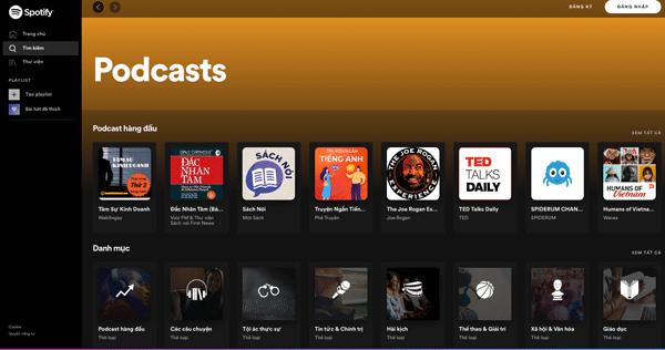 podcast spotify là gì