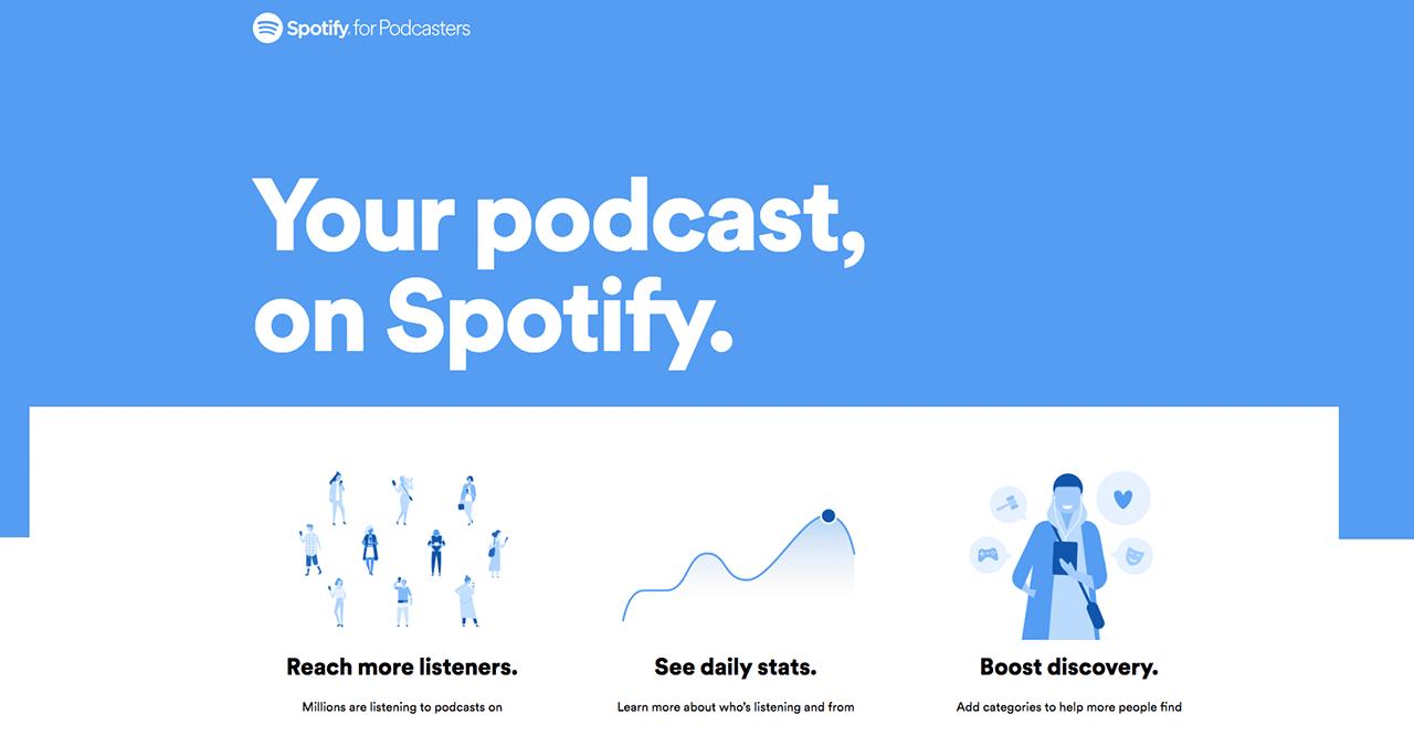 hướng dẫn cách tạo podcast trên spotify