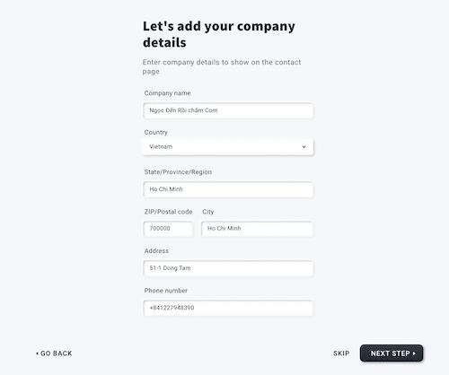 tạo website với getresponse