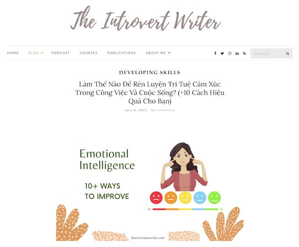 blog TheIntrovertWriter