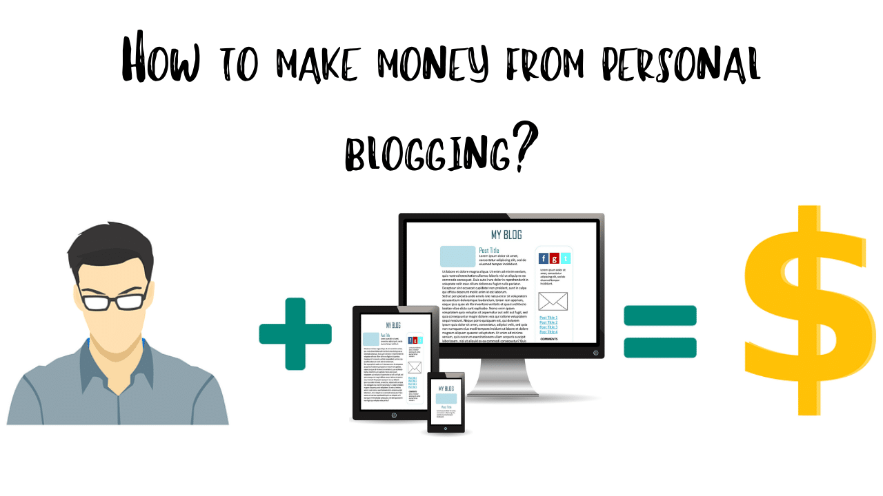 kiếm tiền từ viết blog